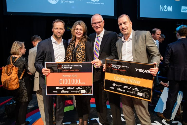 CFK Recycling uit Duitsland wint de Sustainable Industry Challenge 2020